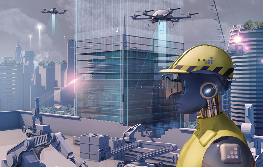 Robots will eventually take over construction market.